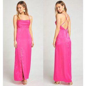 Show Me Your MuMu Maxi Dress Cowl w/Slit XL